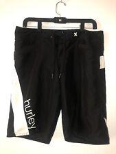 Hurley Boys' Swim Shorts Black Size Medium