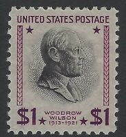US Stamps - Scott # 832 - $1 Prexie - Mint Lightly Hinged                (H-792)