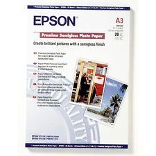 Epson A3 PREMIUM semi-brillante Papel fotográfico 251gsm 20 HOJAS - c13s041334
