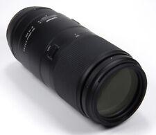 Tamron 100-400mm f/4.5-6.3 VC USD Lente Para Nikon Di F-AFA035N-700
