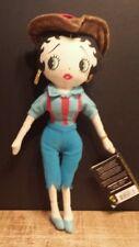 """Betty Boop plush doll ,Cowboy Betty , 12 """" , Kellytoy 1999"""