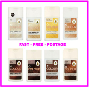 Superdrug Conditioning Hair Colour Effects Wash In/Out - 8 Colours - Select