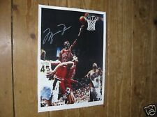 Michael Jordan Basketball Legend POSTER Copy Auto