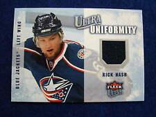 2008 Ultra Rick Nash uniformity hockey jersey card   Rangers   Blue Jackets  jsy