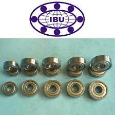 10 Stk. IBU Rillenkugellager / Miniatur Kugellager 626 ZZ = 2Z  6x19x6 mm