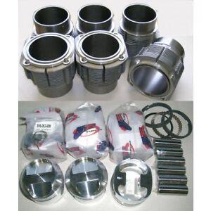 Porsche 911 High Compression 86mm JE Piston & Biral Cylinder Kit 2.2 & 2.4