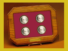 Year Set Coin Holder Champion Custom Oak C-135