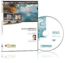 Adobe Lightroom 2: Power Session DVD by Matt Kloskowski (DVD, 2009)