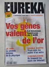 Revue Eurêka Vos gènes valent de l'or  N°54 /Z117