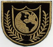 Buck Rogers Earth Directorate Arm Patch - Black & Gold - Dress Uniform