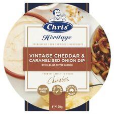 Chris' Heritage Vintage Cheddar & Caramelised Onion Savoury Dip 170g
