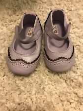 Janie and Jack baby girl size 4 crib shoes