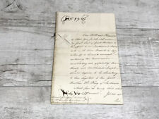 King George III Signed Letter 1807, Fully Authenticated by Three Sources, PSA/DN