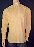 PIERRE CLARENCE Taille 40 M Superbe chemise manches longues jaune homme shirt