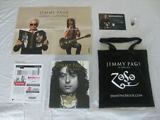 "JIMMY PAGE/CHRIS CORNELL ""Ticket/Book/Tote Bag"" Ace Hotel 11/12/14 Led Zeppelin"