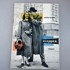 Katalog Regenbekleidung Klepper Rosenheim 1955 (40650)
