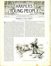 Harper's Young People Magazine June 20 1893 James Hallowell GD 042717nonjhe