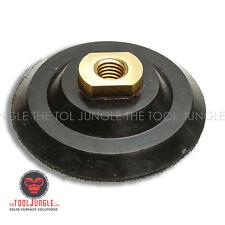 4 inch Rigid Stiff Firm Rubber Backer Pad Hook & Loop for Diamond Polishing Pads