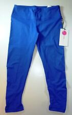 *NWT* YOGA-LI-CIOUS WOMENS DESIGNER FASHION YOGA BLUE LEGGING SIZE SMALL M126