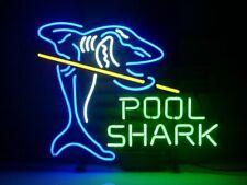 "New Billiards Pool Shark Beer Bar Neon Light Sign 24""x20"""