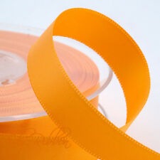 Quality Satin Ribbon Double Sided Cut Lengths 3mm 6mm 10mm 16mm 25mm 38mm Crafts