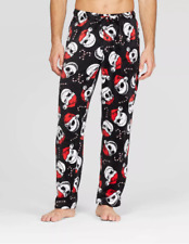 New Mens Sleep Pant XXL 2X Nightmare Before Christmas Disney Pajama Bottom Black