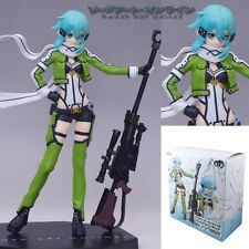 "SAO Sword Art Online GGO Asada Shino Standing 19cm/7.6"" PVC Figure New In Box #2"