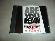 Detroit Red Wings Are You Ready 99 Playoffs HockeyTown CD Single Hockey NHL