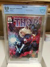 Thor #10 MINT 9.9 ⛓️Single Highest Graded⛓️Knullified⛓️Marvel Cates⛓️CBCS-CGC