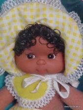 Vintage * Mattel Pretty Baby Bonnet Beans * # 3206 African American Doll in Box