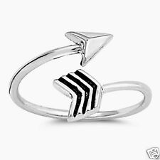 USA Seller Arrow Toe Ring Sterling Silver 925 Adjustable Best Price Jewelry