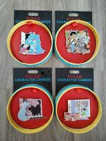 Disney Parks Quarterly Series Pixar Character Cameos 2020 Complete Pin Set of 4