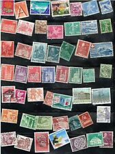 (13-981) 75 Assorted Cancelled Postage sTamps from Sweden