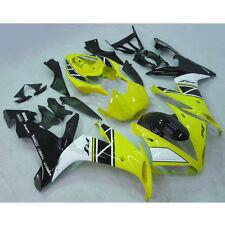 Injection ABS Fairing Bodywork For YAMAHA YZF R1 R 1 2004-2006 2005 Yellow Black