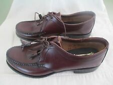 Vintage Lady Cole Haan Womens leather Dress Shoes 1960s NOS New size 7AA tassles