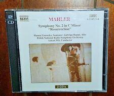 Mahler: Symphony No. 2 in C Minor, 'Resurrection' (2-CD, 1993, NAXOS)