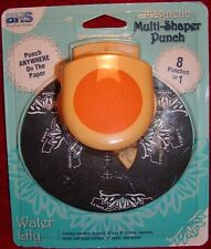 Blue Hills Studio Magnetic Multi Shaper Punch 8 punches in 1 Water Lily NEW!!