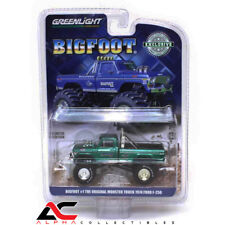 CHASE GREENLIGHT 29934 1:64 1974 FORD F-250 MONSTER TRUCK BIGFOOT GREEN MACHINE
