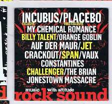INCUBUS / PLACEBO / MY CHEMICAL ROMANCE / BILLY TALENT +  ROCK SOUND CD Vol. 58