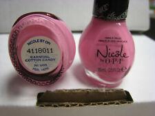 2 yes 2 pcs Nicole by Opi Nail Polish #Ni U05 Carnival Cotton Candy shade