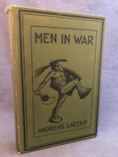 1918 MEN IN WAR Andreas Latzko 1st Ed 2nd Printing Art Deco WWI WW1 RARE