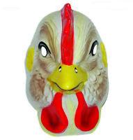 Vintage Plastic Cute Assorted Animals Masks Costume Accessory Fun Adult Child