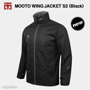 MOOTO Wing Jacket S2 (Black) Windbreaker with Optional Patch TKD KUKKIWON WT