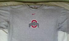 Ohio State Buckeyes Football Nike Team Gray Tee T-shirt Size M, Medium U.S.A.!
