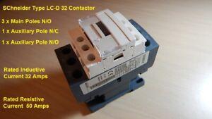 Contactor  Equivalent to Schnider Type LC1 D32  / MIG TIG PLASMA