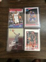 (4) 2018-19 Donruss Optic Shai Gilgeous-Alexander Rated Rookie RC Lot score play
