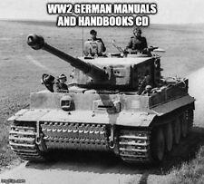 WW2 German Hitler Military Wehrmacht Manuals Handbooks War CD