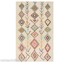 NULOOM Belini 4 ft. x 6 ft. [120X180] Area Rug IVORY WITH MULTI COLOURS