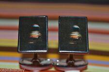 Mini COOPER CUFFLINKS por Dalaco-en Caja de Regalo-Alta Calidad-UNION JACK TECHO