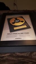 Carly Simon Boys In Trees Rare Ampex Original Promo Poster Ad Framed!
